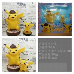 Pokémon Detective Pikachu Figure Move Anime Figure Toy