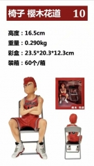 Slam Dunk Hanamichi Sakuragi Cartoon Cosplay Anime Collection Toy PVC Figure
