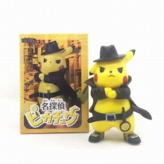 Pokemon Detective Pikachu Movie Cosplay Anime PVC Figure Collection Gift Model Toy