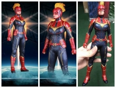 Crazy Toy 12inch The Avenger Captain Marvel Movie Action Figure