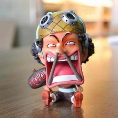 One Piece Funny Usopp Japanese Cartoon Anime PVC Figure Collection Toy