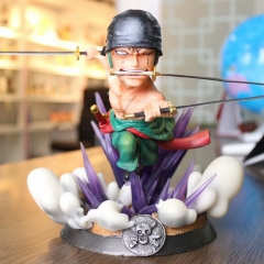 One Piece Zoro Japanese Cartoon Anime PVC Figure Collection Toy