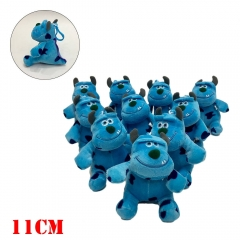 Monsters University Movie Plush Keychain Set(10pcs)
