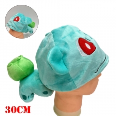 Pokemon Anime Bulbasaur Plush Hat