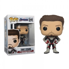 Funko POP Marvel's The Avengers Tony Stark 449# Anime PVC Figure