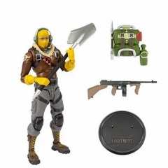 Fortnite Raptor Game Cosplay Anime PVC Figure Collection Gift Model Toy