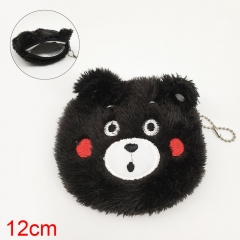 Kumamon Anime Plush Purse