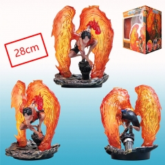 One Piece Ace Japanese Cartoon Anime PVC Figure Collection Toy
