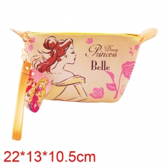 Beauty and the Beast Movie PU Leather Purse Cosmetic bag
