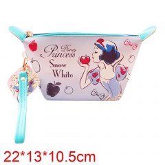 Snow White and the Seven Dwarfs Movie PU Leather Purse Cosmetic bag