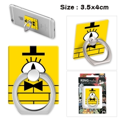 Gravity Falls Stick Alloy Ring Fashion Anime Phone Support Frame