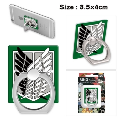Attack on Titan Movie Stick Alloy Ring Fashion Anime Phone Support Frame