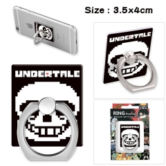 Undertale Stick Alloy Ring Fashion Anime Phone Support Frame