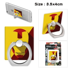 Iron Man Stick Alloy Ring Fashion Anime Phone Support Frame