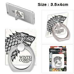 Game of Thrones Stick Alloy Ring Fashion Anime Phone Support Frame