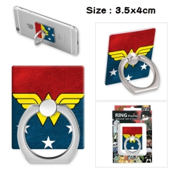 Wonder Woman Stick Alloy Ring Fashion Anime Phone Support Frame