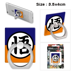 Dragon Ball Z Stick Alloy Ring Fashion Anime Phone Support Frame