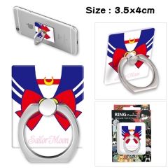 Pretty Soldier Sailor Moon Stick Alloy Ring Fashion Anime Phone Support Frame