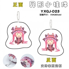 Date A Live Cartoon Cosplay Decorative Bag Anime Plush Pendant Keychain