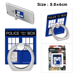 Doctor Who Stick Alloy Ring Fashion Anime Phone Support Frame
