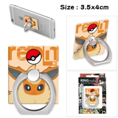 Pokemon Stick Alloy Ring Fashion Anime Phone Support Frame