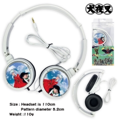 Inuyasha Anime Headphone Earphone