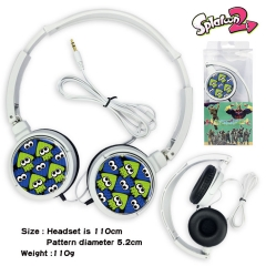 Splatoon Game Headphone Earphone