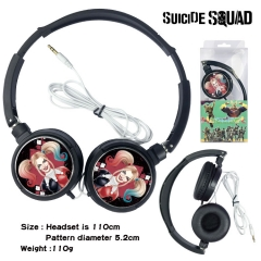 DC Comics Suicide Squad Movie Headphone Earphone