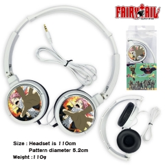 Fairy Tail Anime Headphone Earphone