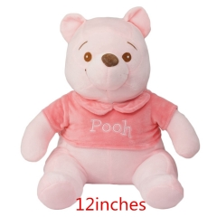 12inches Pooh Bear Anime Plush Toy