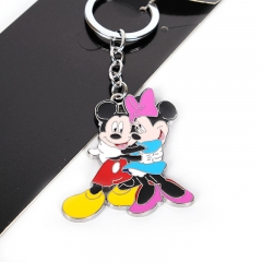 Disney Mickey Mouse Movie Cosplay Decorative Alloy Anime Keychain
