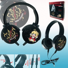 Fate/Grand Order Colorful Printing Anime Rotatable Headphone Earphone