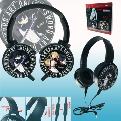 Sword Art Online | SAO Colorful Printing Anime Rotatable Headphone Earphone