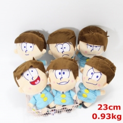 Osomatsu-san / Osomatsu-kun Collection Doll Anime Plush Toys Pendant (6pcs/set)