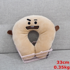 K-POP BTS Bulletproof Boy Scouts For Sleeping Anime U-shape Plush Pillow
