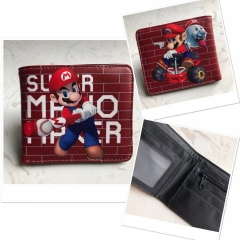 Super Mario Bro Anime PU Leather Wallet