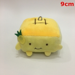 Japanese Style Cerasus Tofu Decorative Doll Anime Plush Pendant Toy (10pcs/set)
