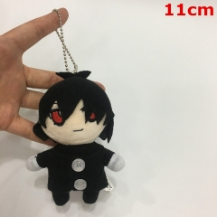 Kuroshitsuji / Black Butler Sebastian Character Decorative Doll Anime Plush Pendant Toy (10pcs/set)