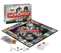 Doctor who Board Game Monopoly Playing Card Anime Crafts