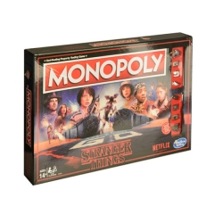 Stranger Things Board Game Monopoly Playing Card Anime Crafts