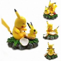 Pokemon Pikachu Cosplay Anime Action Figure Model Toy