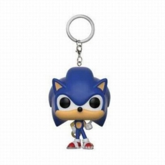 Sonic Game Cosplay Collection Anime Pocket Keychain 5cm