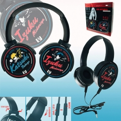 My Hero Academia Cartoon Anime Headphone