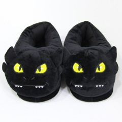 How to Train Your Dragon Movie Cosplay Cartoon For Adult Indoor Anime Plush Slipper
