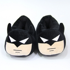 Batman Movie Cosplay Cartoon For Adult Indoor Anime Plush Slipper