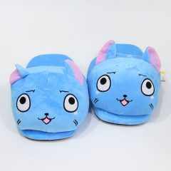 Fairy Tail Cosplay Cartoon For Adult Indoor Anime Plush Slipper