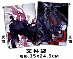 Tokyo Ghoul Cosplay Cartoon For Student Office File Holder Anime File Pocket