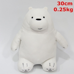We Bare Bears Cosplay Cartoon Character Gift Dolls Anime Plush Toy