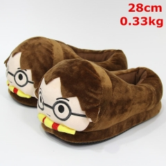 Harry Potter Movie Cosplay For Adult Cute Cartoon Anime Plush Slipper