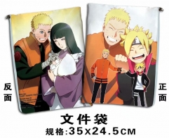 Naruto Cartoon For Student Office File Holder Anime File Pocket